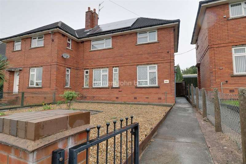 3 Bedrooms Semi Detached House for sale in Crown Bank Crescent, Talke