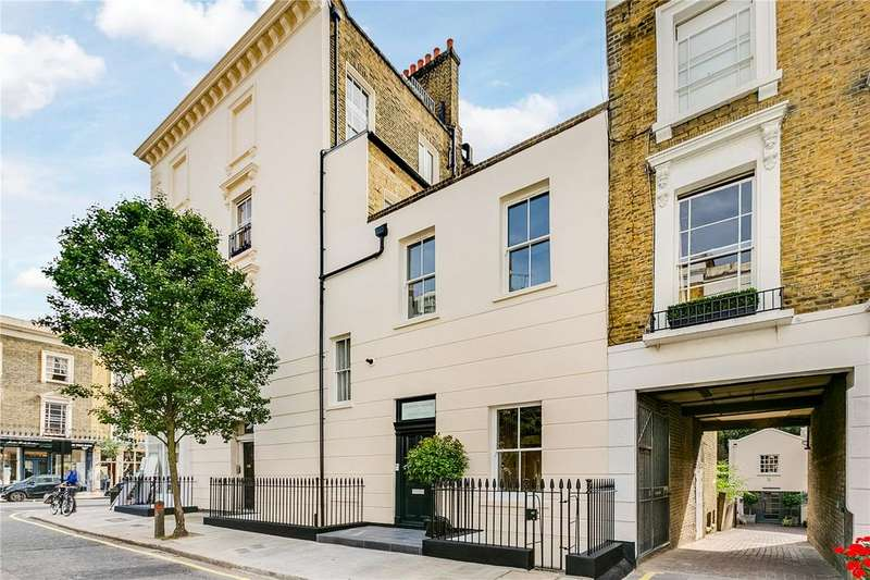 3 Bedrooms Maisonette Flat for sale in Old Post House, Churton Place, Pimlico, London