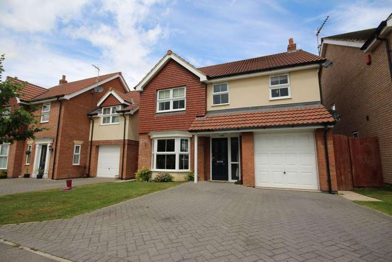 4 Bedrooms Detached House for sale in TEALBY CLOSE, HABROUGH FIELDS