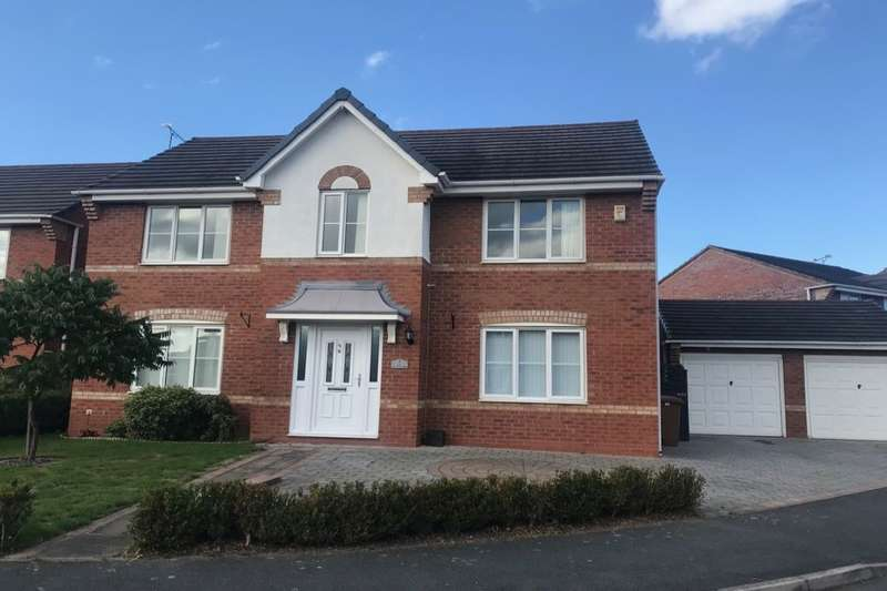 4 Bedrooms Detached House for sale in Fox Covert Way, Crewe, CW1