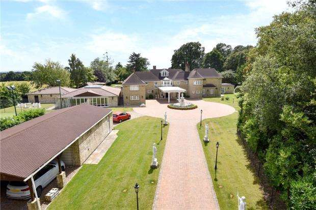 6 Bedrooms Detached House for sale in Brockhurst Park, Rickmans Lane, Stoke Poges