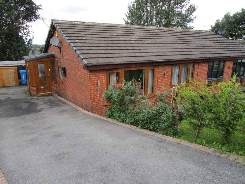 2 Bedrooms Semi Detached Bungalow for sale in Staveley Close, Shaw