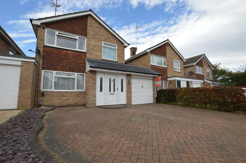 4 Bedrooms Link Detached House for sale in Dalby Close, Luton, Bedfordshire, LU4 0XF