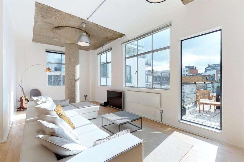 2 Bedrooms Flat for sale in Ziggurat Building, 60-66 Saffron Hill, London, EC1N
