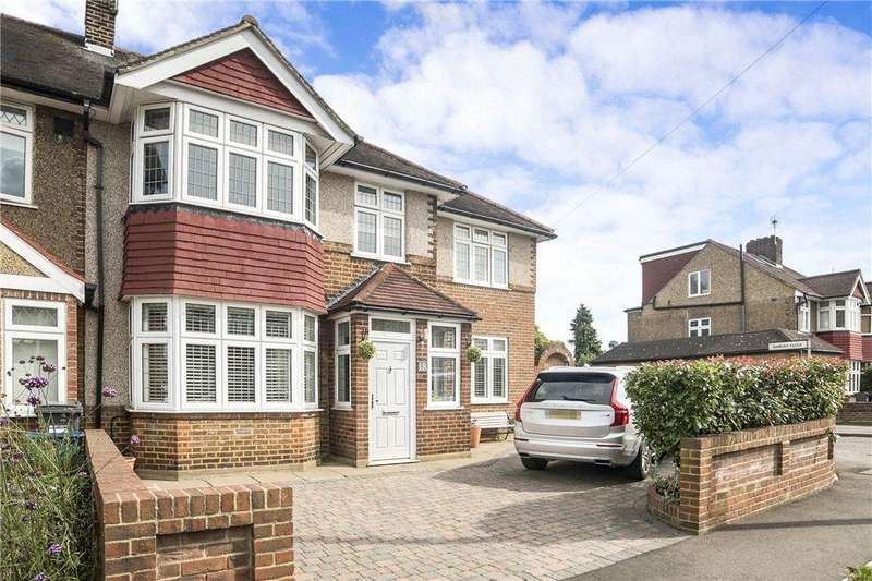 4 Bedrooms End Of Terrace House for sale in Shirley Drive, Hounslow, TW3
