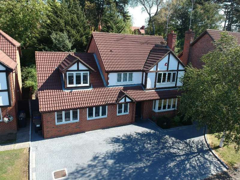 5 Bedrooms Detached House for sale in Priory Field Drive, Edgware, Middlesex, HA8 9PU