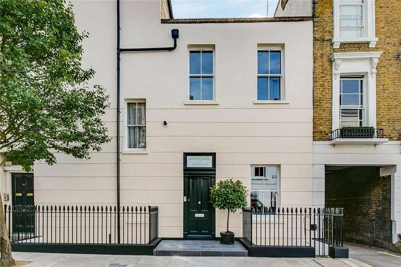 3 Bedrooms Flat for sale in Old Post House, Churton Place, Pimlico, London