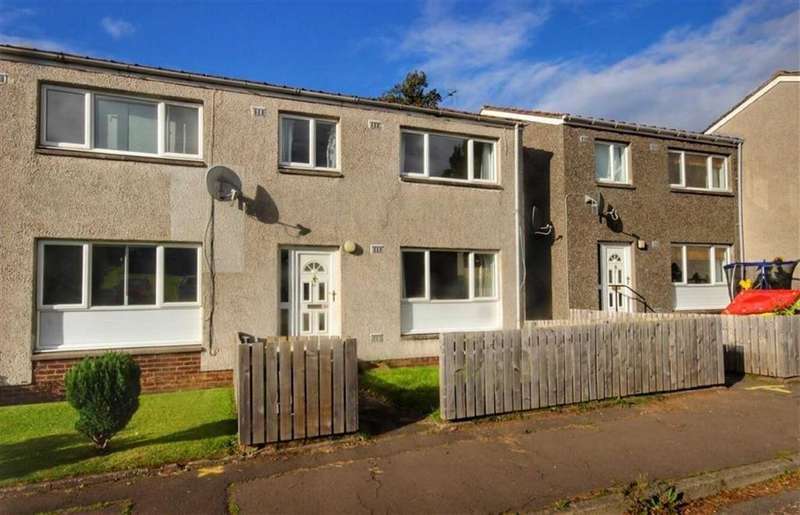 2 Bedrooms Semi Detached House for sale in 57, Warwick Close, Leuchars, Fife, KY16