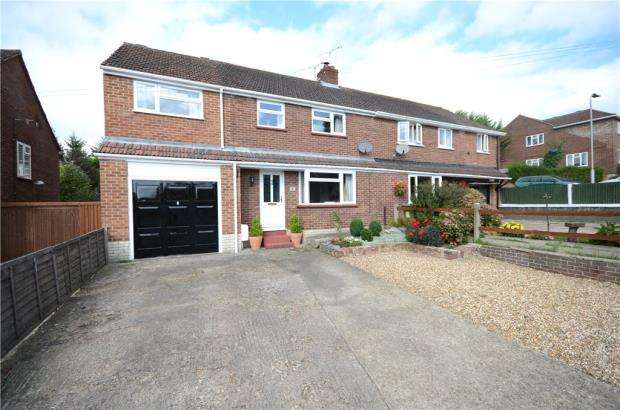4 Bedrooms Semi Detached House for sale in Crowthorne Road, Sandhurst, Berkshire