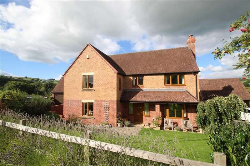 4 Bedrooms Detached House for sale in Offas Green, NORTON, Presteigne, Powys