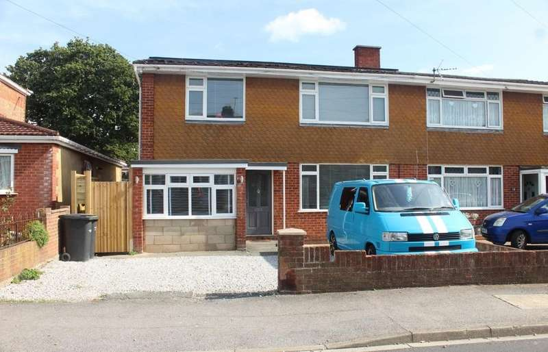 4 Bedrooms Semi Detached House for sale in Palmyra Road, Elson, Gosport