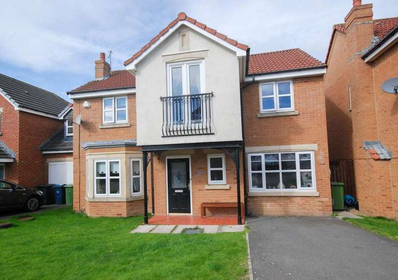 4 Bedrooms Detached House for sale in Cedar Drive, Jarrow