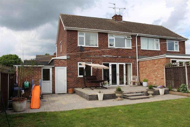 3 Bedrooms Semi Detached House for sale in Brooklands Road, Cosby, Leicester