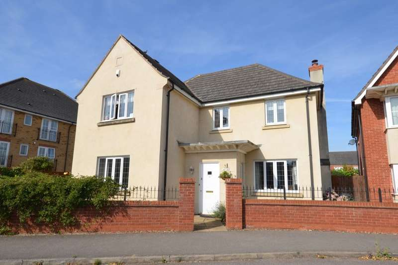 4 Bedrooms Detached House for sale in Berrywood Drive, St Crispins, Northampton, NN5