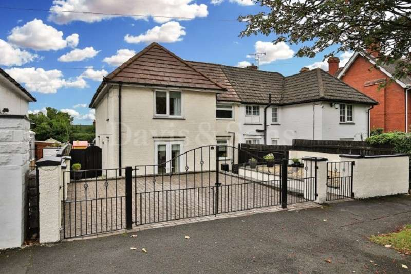 3 Bedrooms Semi Detached House for sale in Linden Road, Newport, Gwent. NP19 8LB