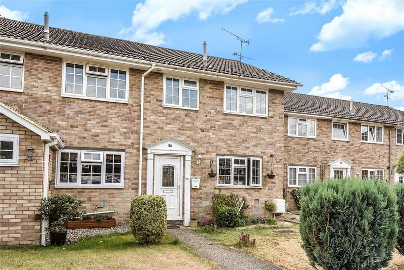 3 Bedrooms Terraced House for sale in Church Road, Owlsmoor, Sandhurst, Berkshire, GU47