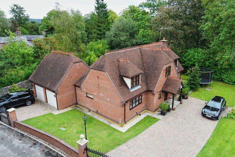 5 Bedrooms Detached House for sale in Clay Lake, Endon, Staffordshire, ST9