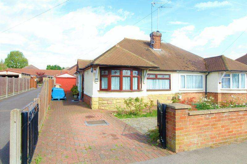 2 Bedrooms Bungalow for sale in Large Semi-Detached Bungalow on Laburnum Grove, Warden Hills