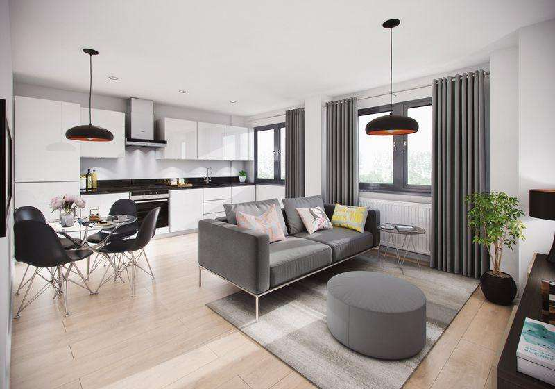 1 Bedroom Flat for sale in Napier Court, Luxury New Build Flats, Luton Town Centre