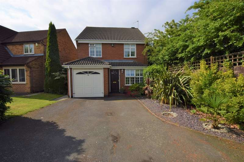 3 Bedrooms Detached House for sale in Briarmead, Burbage LE10