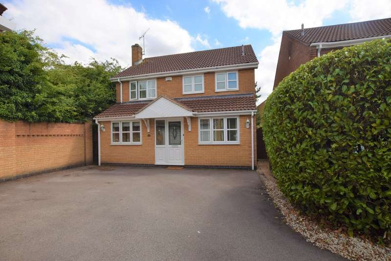 4 Bedrooms Detached House for sale in Herald Way , Burbage LE10