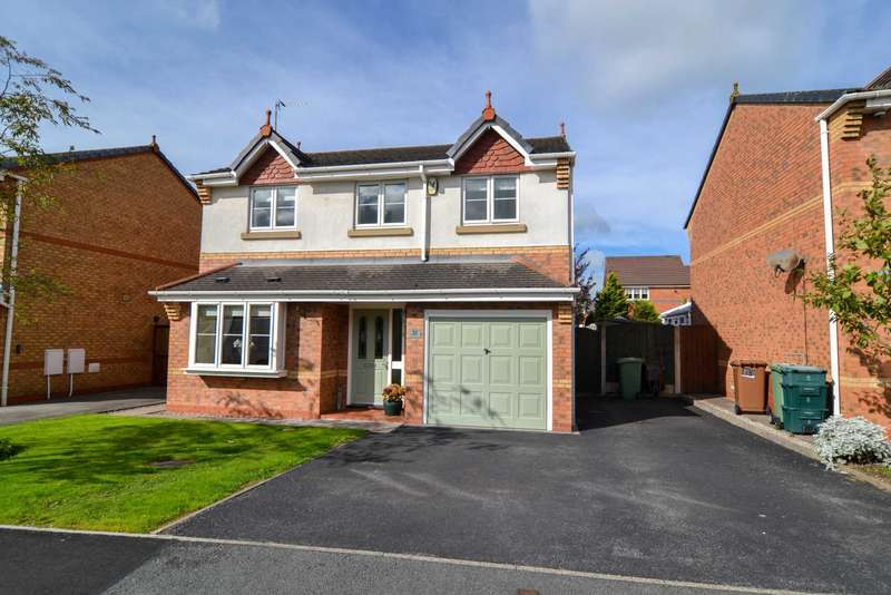 4 Bedrooms Detached House for sale in Highmarsh Crescent, Newton Le Willows