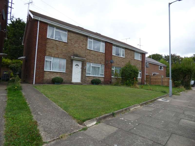 2 Bedrooms Maisonette Flat for sale in Canterbury Close, Luton