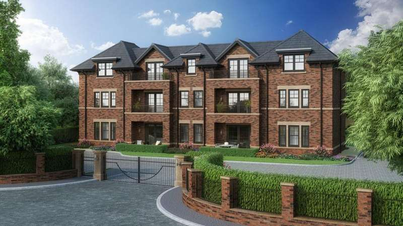 3 Bedrooms Ground Flat for sale in Fernleigh House, Alderley Road, Wilmslow