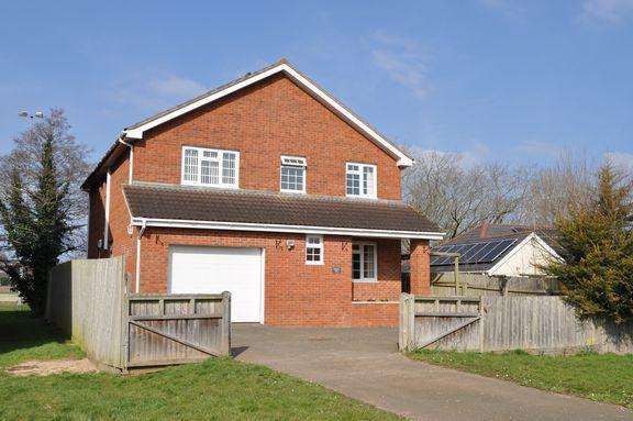 4 Bedrooms Detached House for sale in CULLOMPTON - NO ONWARD CHAIN