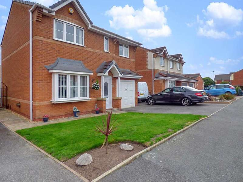 4 Bedrooms Detached House for sale in Highmarsh Crescent, Newton-Le-Willows