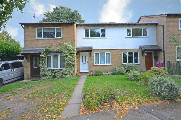 2 Bedrooms Terraced House for sale in Peterhouse Close, Claremont Wood, Sandhurst