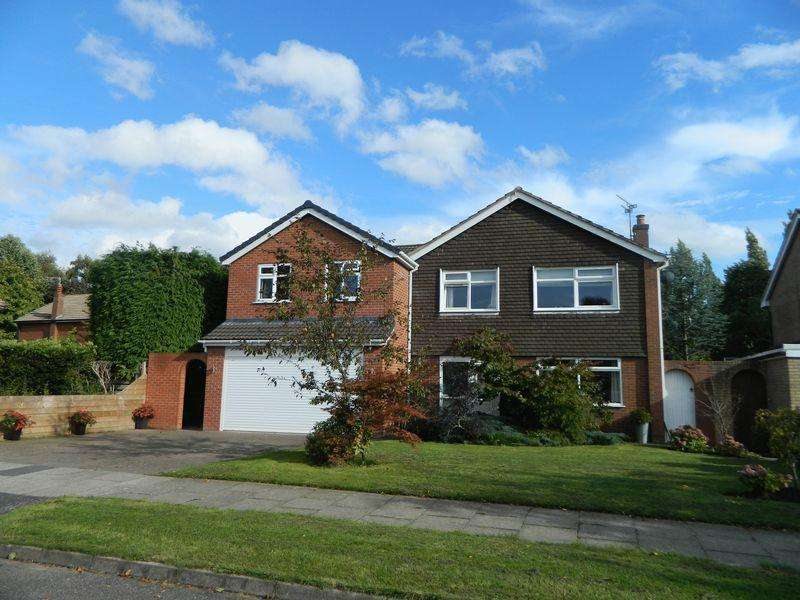 5 Bedrooms Detached House for sale in Bramall Close, Sandbach