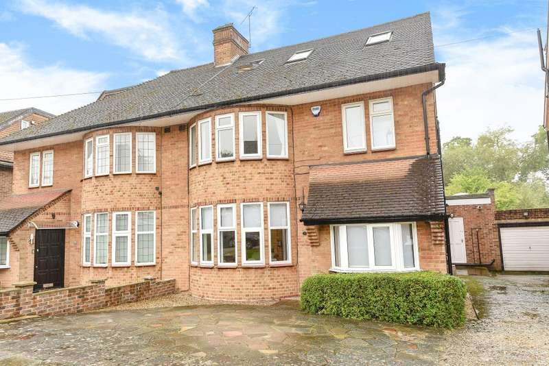 4 Bedrooms House for sale in Michleham Down, Woodside Park, N12
