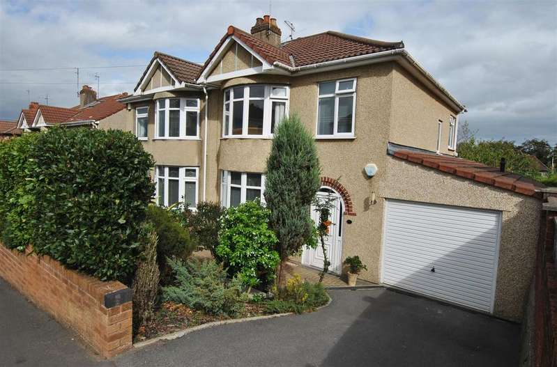 3 Bedrooms Semi Detached House for sale in Hazelbury Road, Whitchurch, Bristol