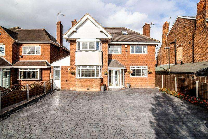 5 Bedrooms Detached House for sale in Birmingham Road, Walsall