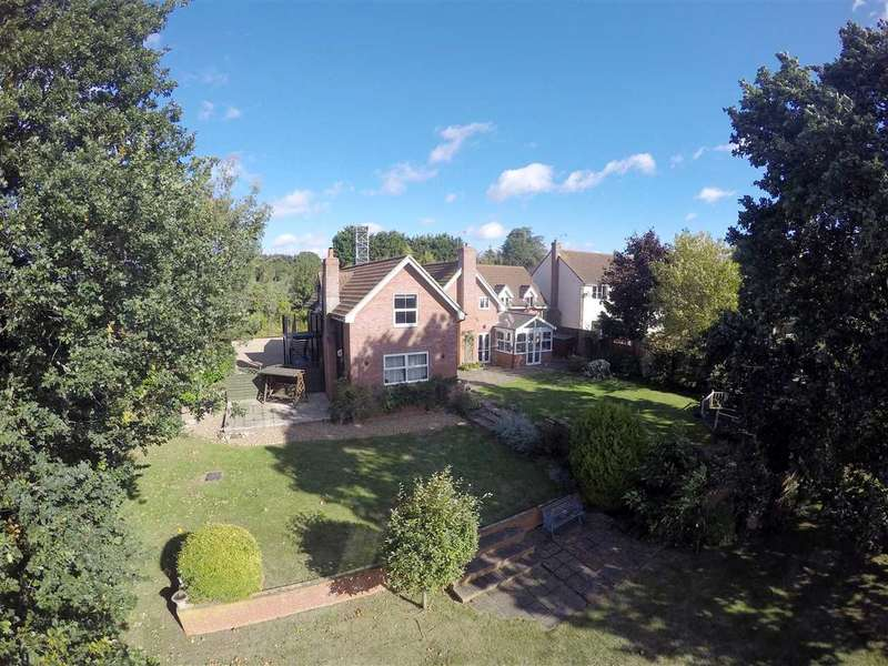 5 Bedrooms Detached House for sale in Hyams Lane, Holbrook, Ipswich, Suffolk