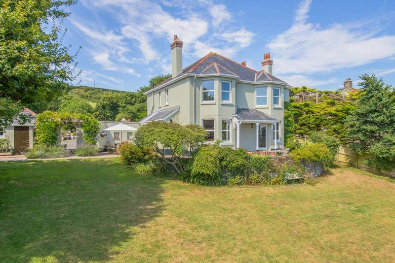 4 Bedrooms Detached House for sale in Frogmore, Kingsbridge