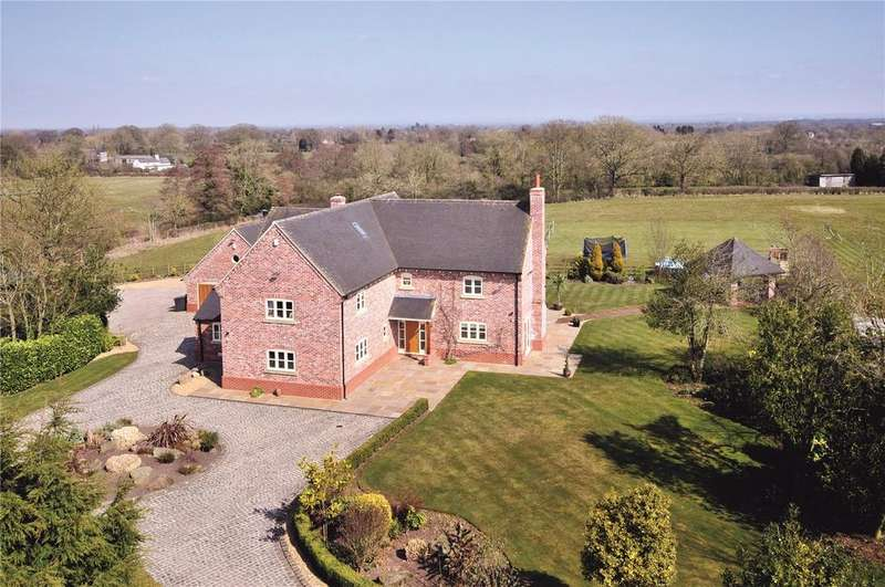 6 Bedrooms Detached House for sale in Willbank Lane, Faddiley, Nr Nantwich, Cheshire, CW5