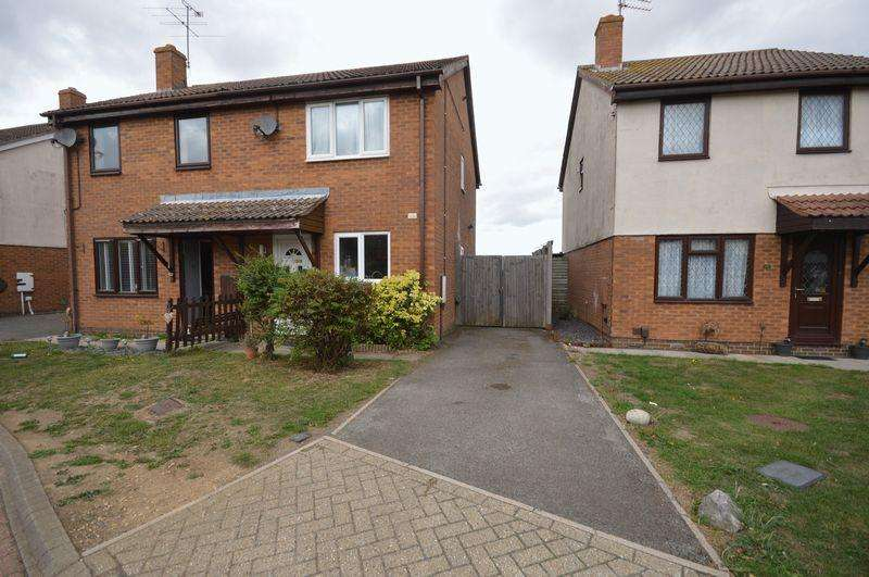 2 Bedrooms Semi Detached House for sale in Houghton Regis.