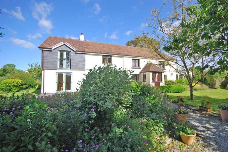 4 Bedrooms Detached House for sale in Perranwell Station, Nr. Truro, Cornwall, TR3