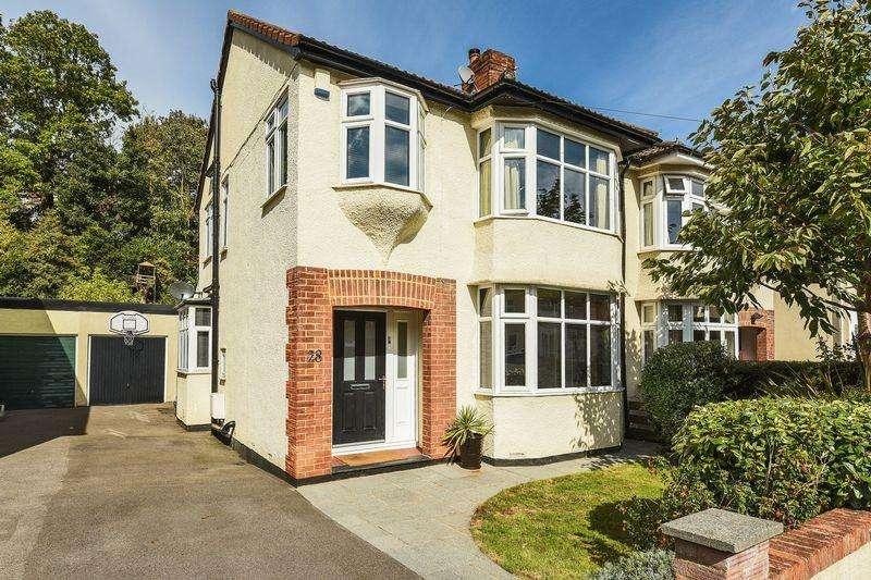 4 Bedrooms Semi Detached House for sale in Glen Drive, Stoke Bishop