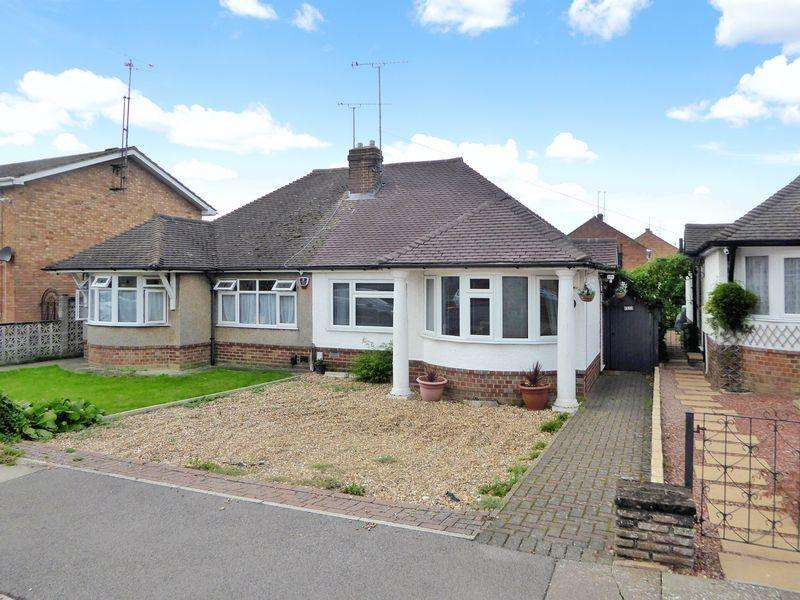 2 Bedrooms Semi Detached Bungalow for sale in Half Moon Lane, Dunstable