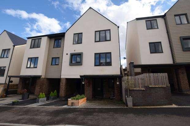 4 Bedrooms Semi Detached House for sale in Hollyhock Way, Paignton, Devon
