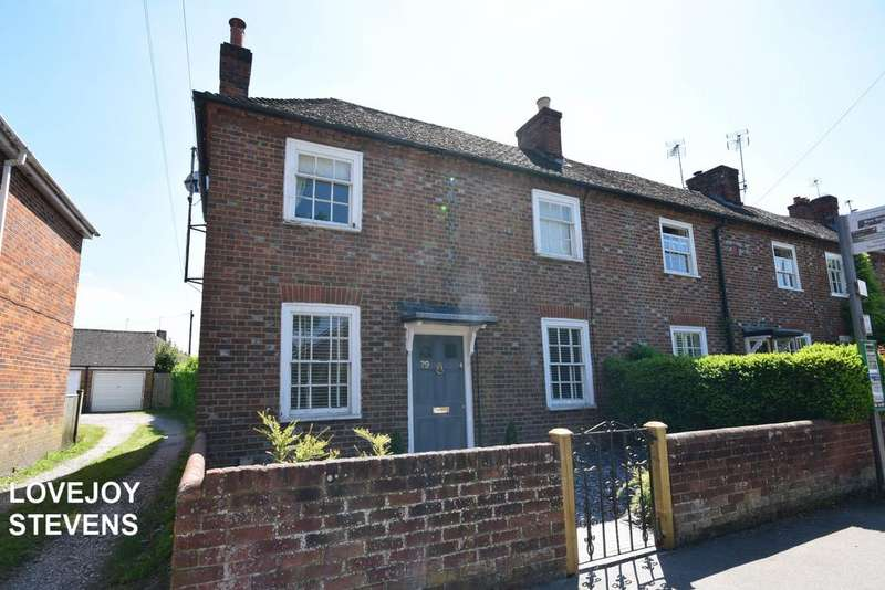 2 Bedrooms Semi Detached House for sale in Shaw Road, Newbuy RG14 1HH