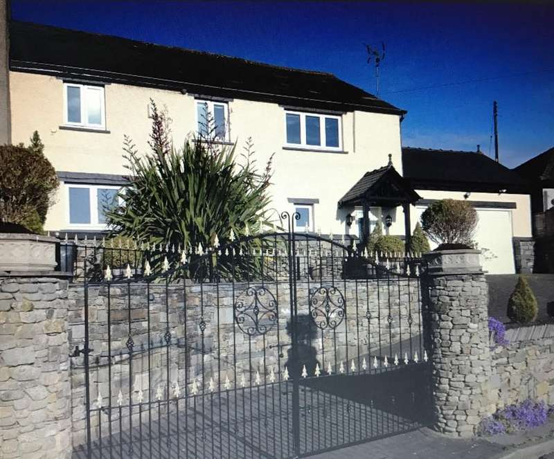 4 Bedrooms Semi Detached House for sale in Stable Croft, Arrad Foot, Ulverston, Cumbria, LA12 7SL