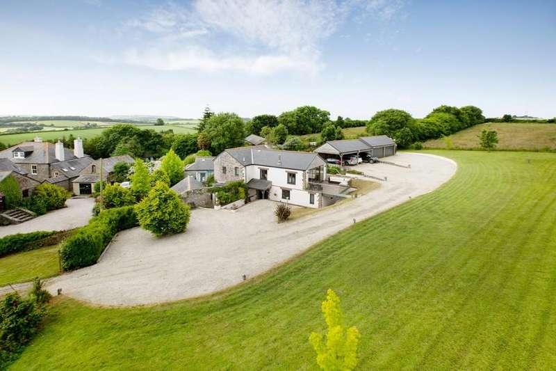 5 Bedrooms Detached House for sale in Menheniot, Liskeard