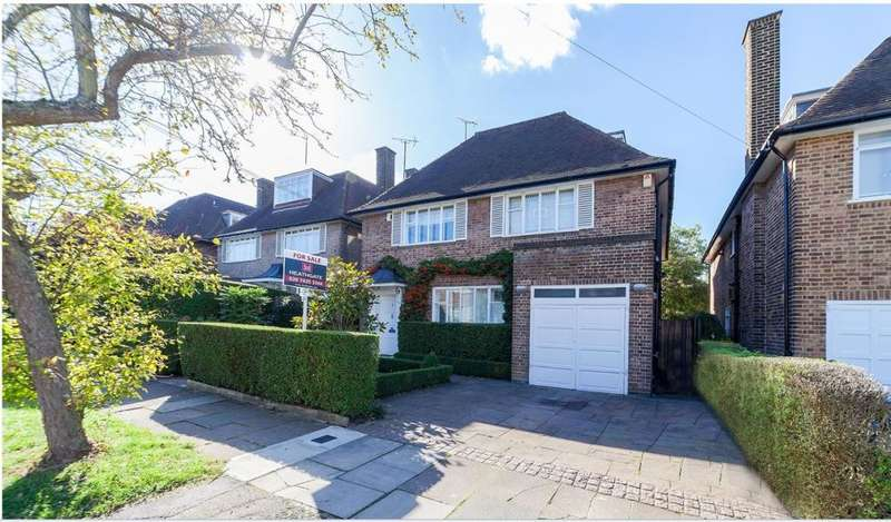 6 Bedrooms Detached House for sale in Rowan Walk, Hampstead Garden Suburb, N2