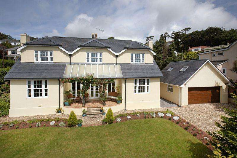 4 Bedrooms Detached House for sale in St. Katherines Road, Torquay