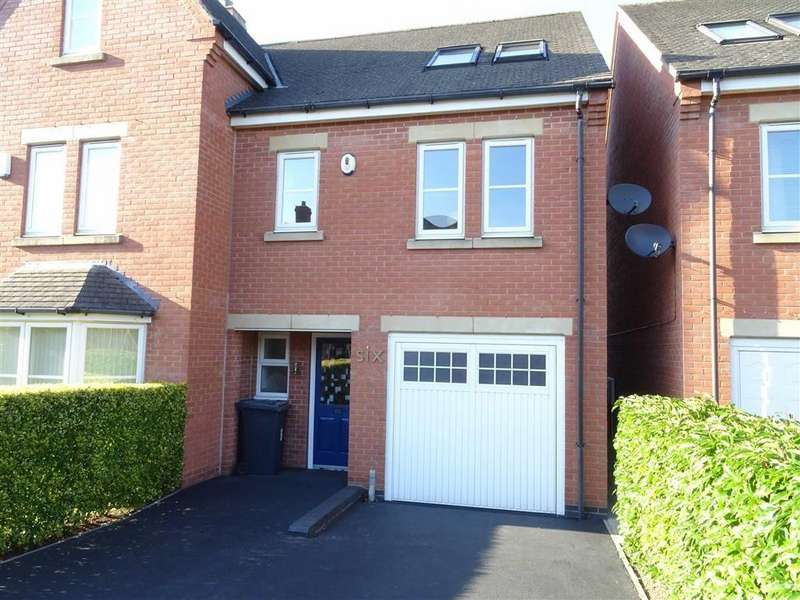 4 Bedrooms Semi Detached House for sale in Bird Close, Earl Shilton