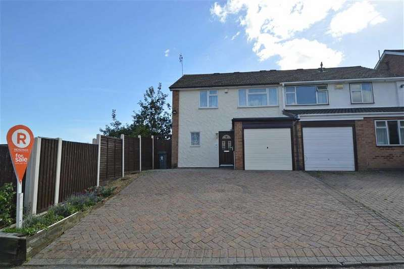 3 Bedrooms Semi Detached House for sale in Whitley Close, Anstey Lane